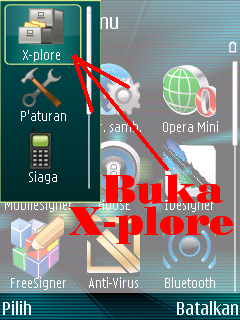 Plore is a file manager for symbian phones with wide range